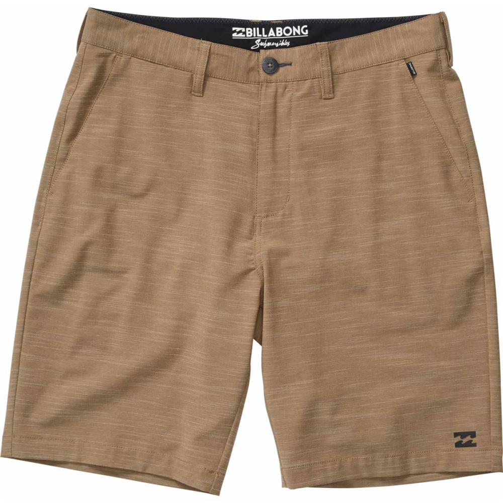 Billabong Guys Crossfire X Slub Submersible Shorts - Brown, 30