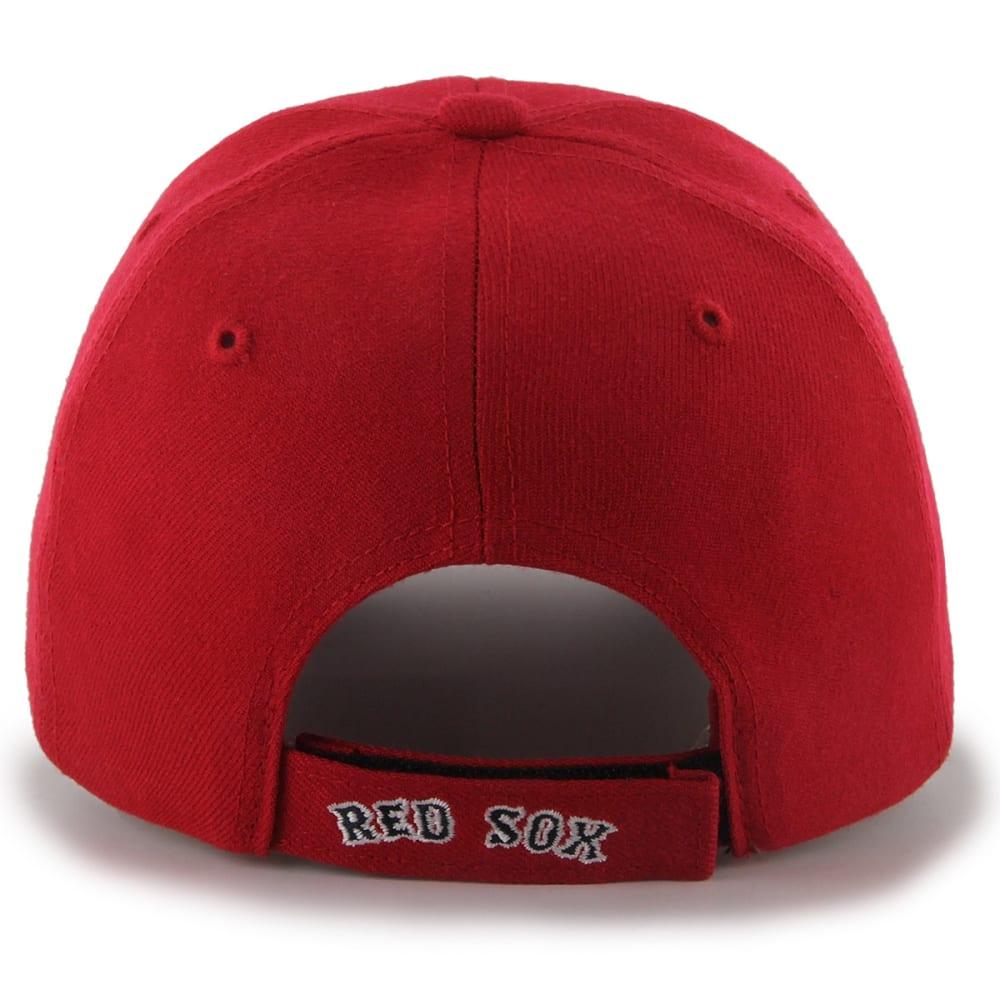 BOSTON RED SOX Men's '47 MVP Adjustable Cap - NAVY/RED
