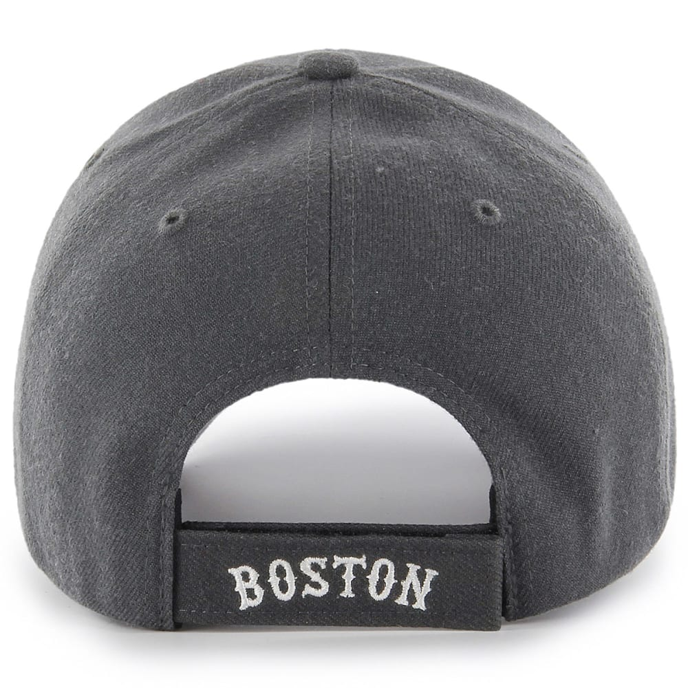 BOSTON RED SOX Men's '47 MVP Adjustable Cap - CHARCOAL/WHITE