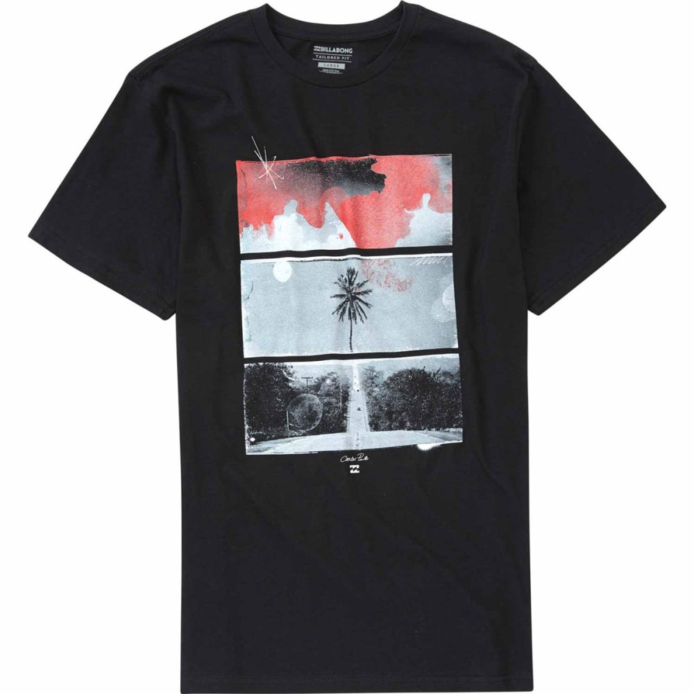 Billabong Guys Route 73 Short-Sleeve Tee - Black, S