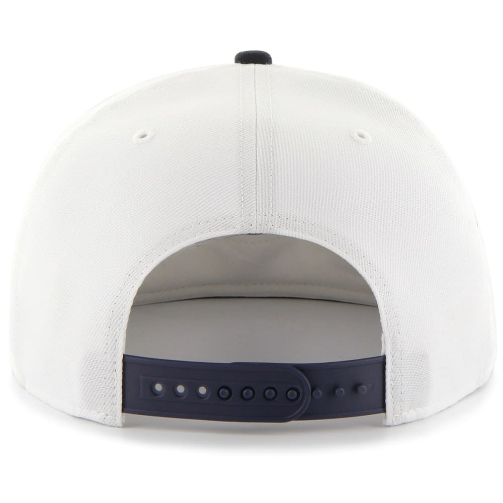 NEW YORK YANKEES Men's '47 Sure Shot Snapback Cap - WHT/NVY