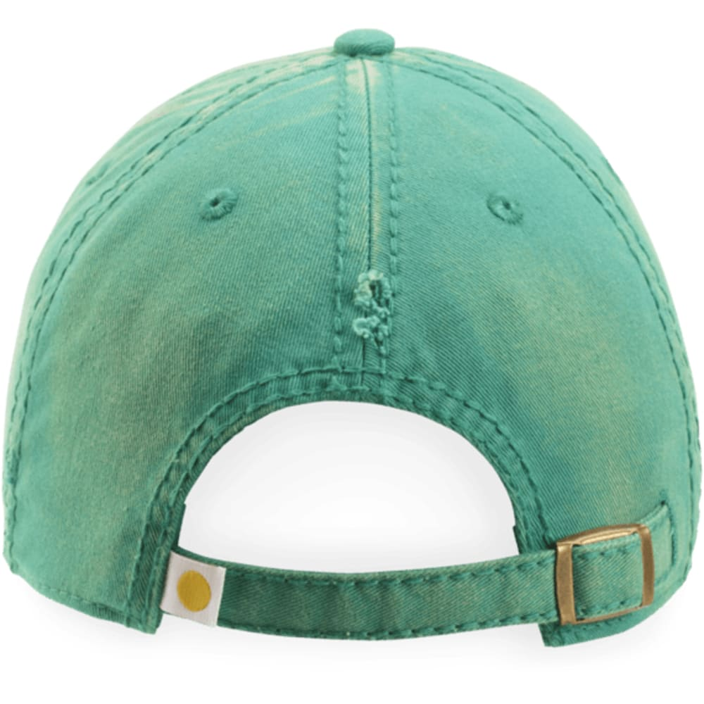LIFE IS GOOD Women's Flip Flops Sunwashed Chill Cap - BRIGHT TEAL