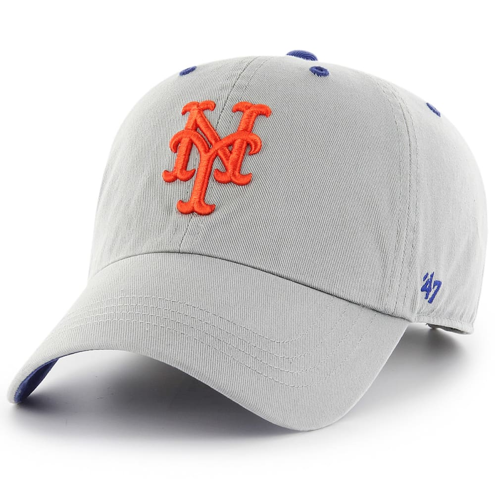 NEW YORK METS Men's Crestone 47 Clean Up Adjustable Hat - STONE