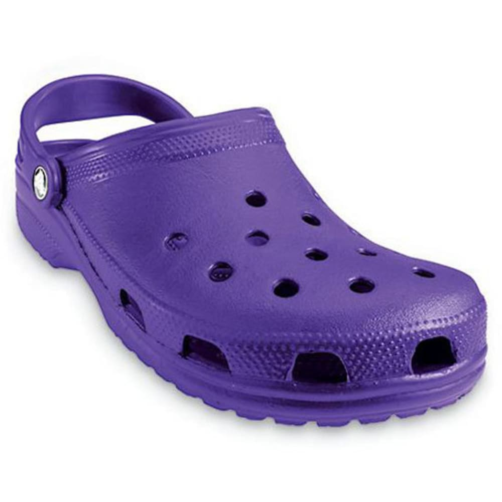 Crocs Adult Classic Clogs, Ultraviolet - Purple, 5