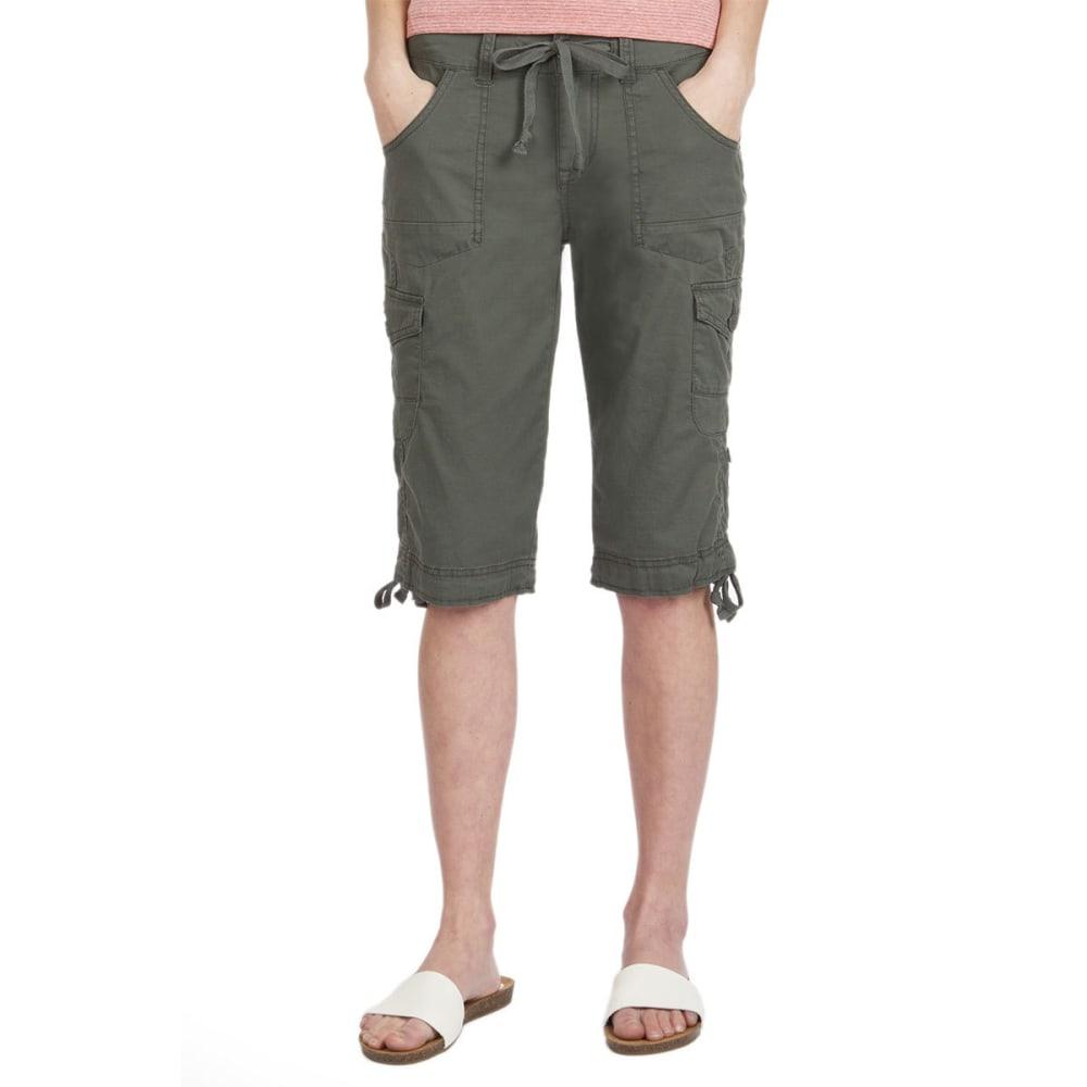UNIONBAY Women's Jamee Cargo Skimmer Shorts - 339J-FATIGUE GREEN