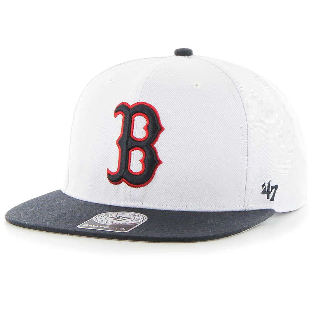 BOSTON RED SOX Men's '47 Sure Shot Two-Tone Snapback Cap ONESIZE
