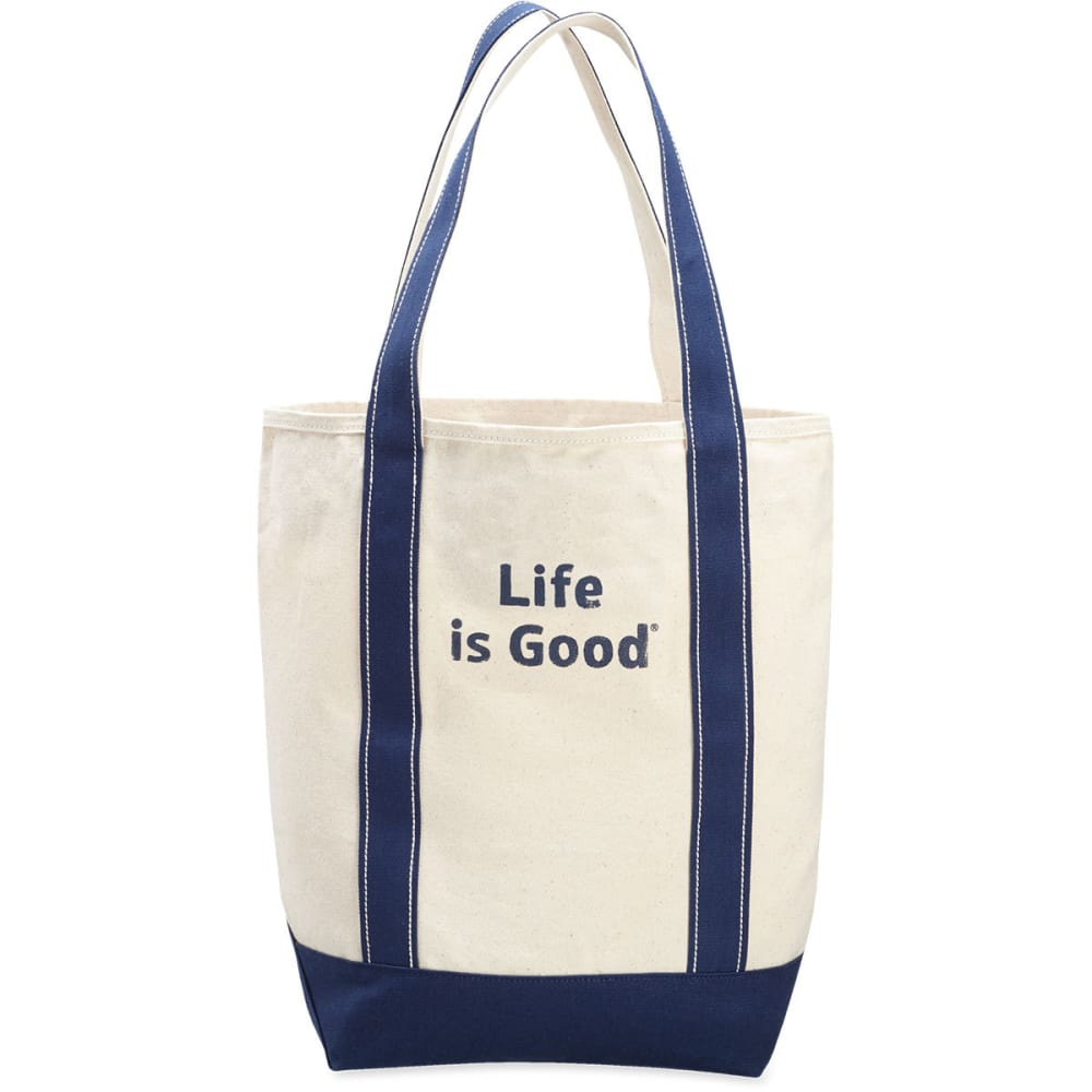LIFE IS GOOD Women's Carry On Canvas Tote NO SIZE