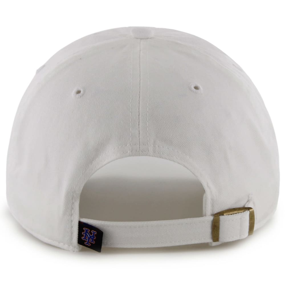NEW YORK METS Men's '47 Clean Up White Adjustable Cap - WHITE