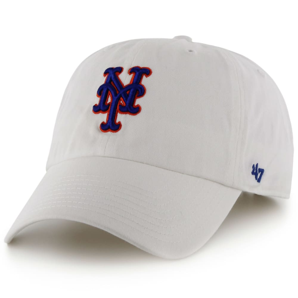4c7496192827b NEW YORK METS Men s  47 Clean Up White Adjustable Cap