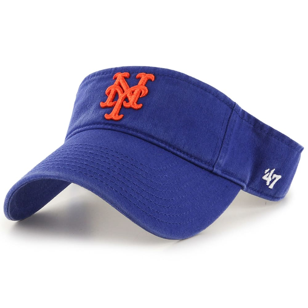 NEW YORK METS Men's '47 Clean Up Visor - ROYAL BLUE
