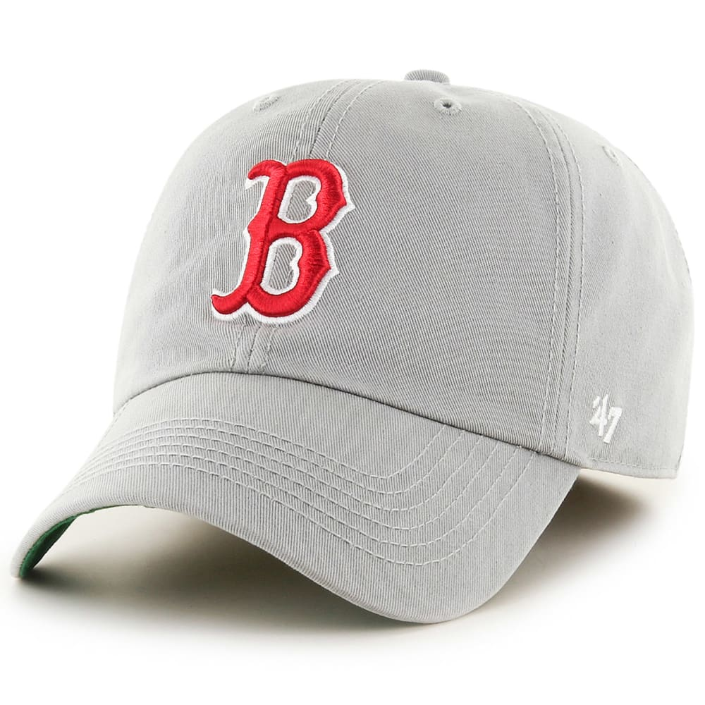 BOSTON RED SOX Men's 47 Franchise Fitted Hat, Grey - GREY