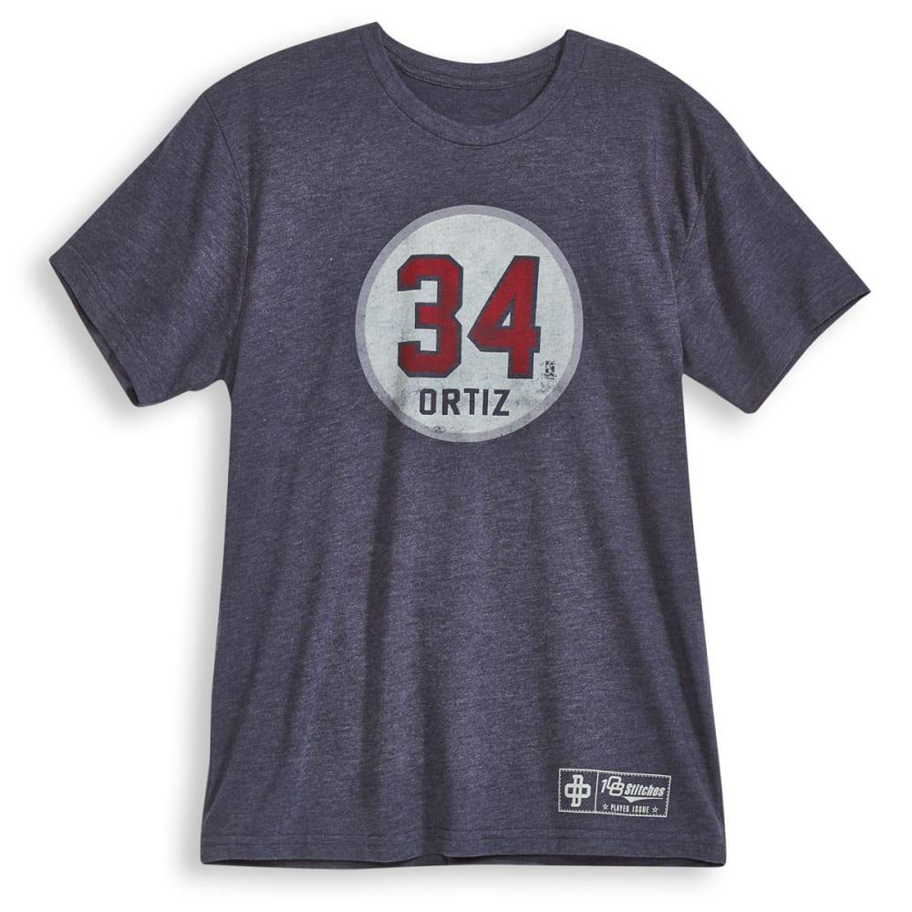 BOSTON RED SOX Men's David Ortiz Circle Short-Sleeve Tee - NAVY