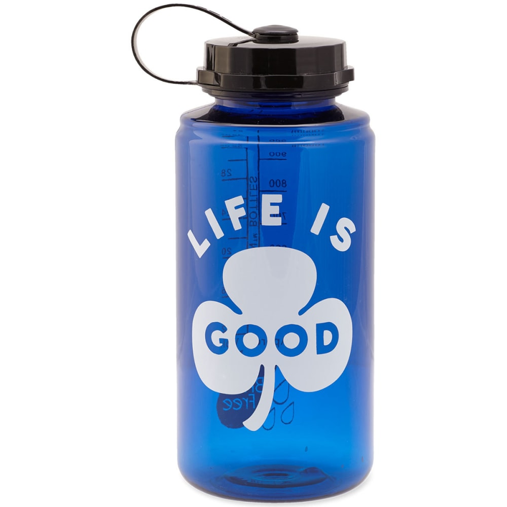 LIFE IS GOOD Clover Water Bottle - NO COLOR