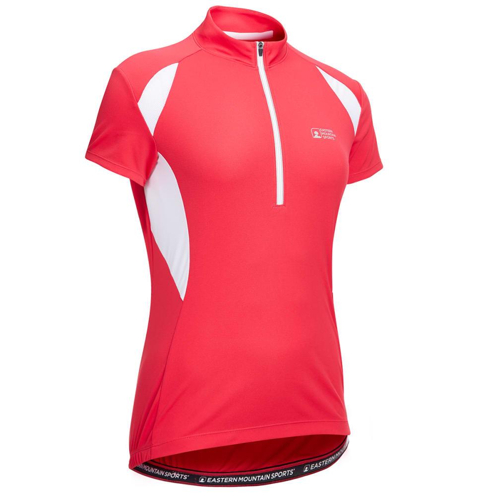 EMS Women's Velo Cycling Jersey - VIRTUAL PINK/WHITE