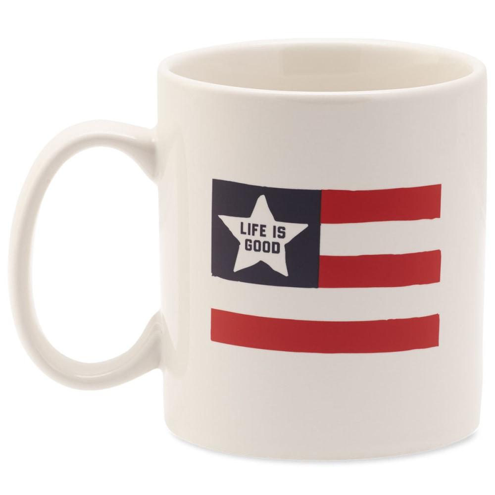 LIFE IS GOOD Flag Jake's Mug - NO COLOR