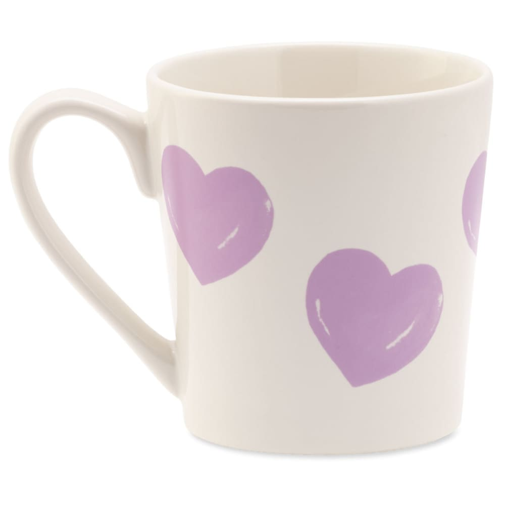 LIFE IS GOOD Heart Watercolor Everyday Mug - NO COLOR
