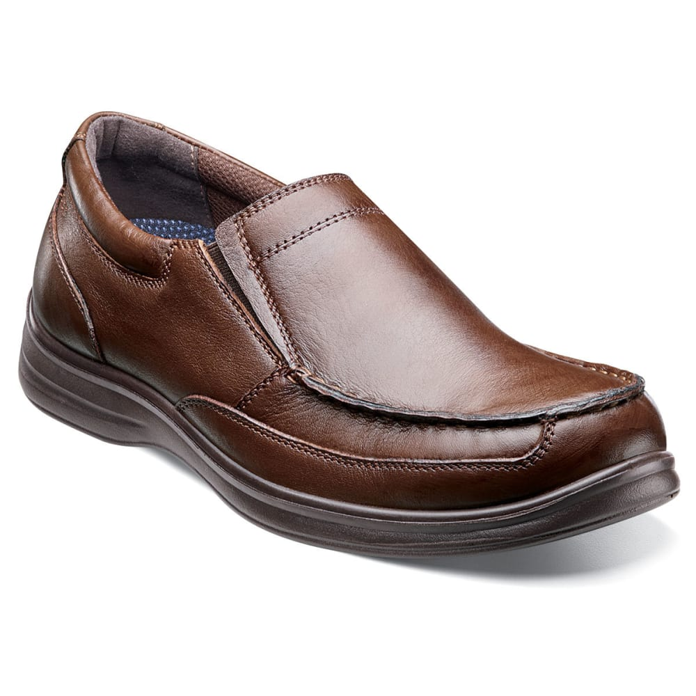 NUNN BUSH Men's Max Slip-On Shoes - COGNAC