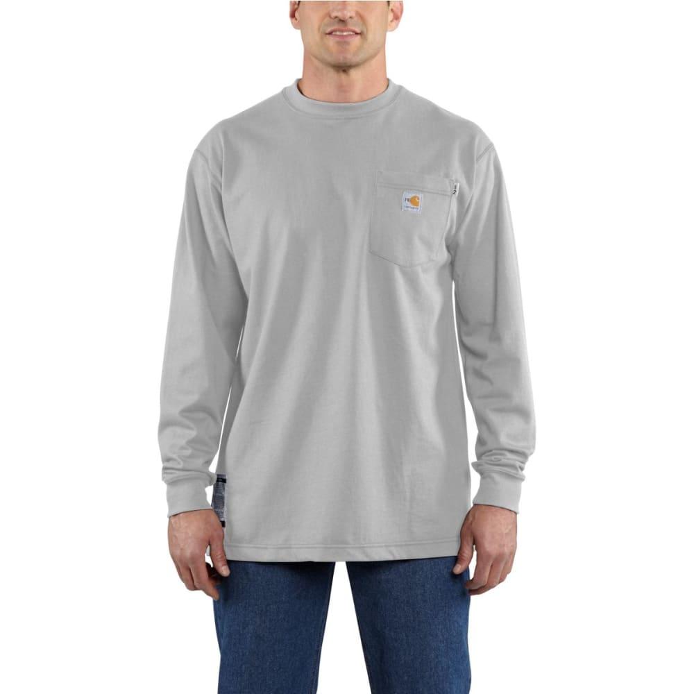 CARHARTT Flame-ResistantLong-Sleeve T-shirt - LIGHT GRAY