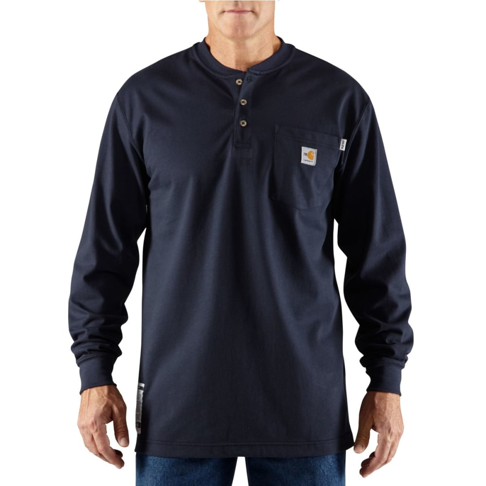 CARHARTT Men's Flame-Resistant Long-Sleeve Henley S
