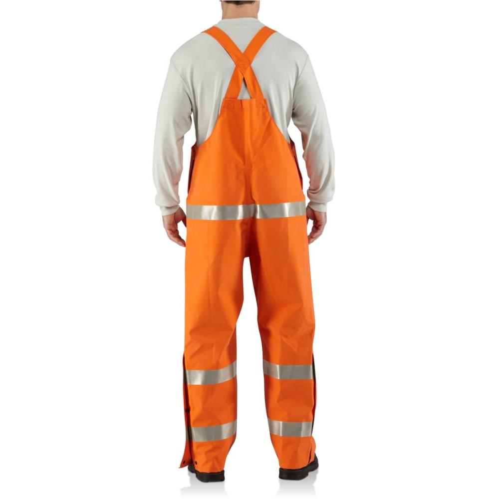 CARHARTT Flame-Resistant Rainwear Bib Overall - BOLD ORANGE