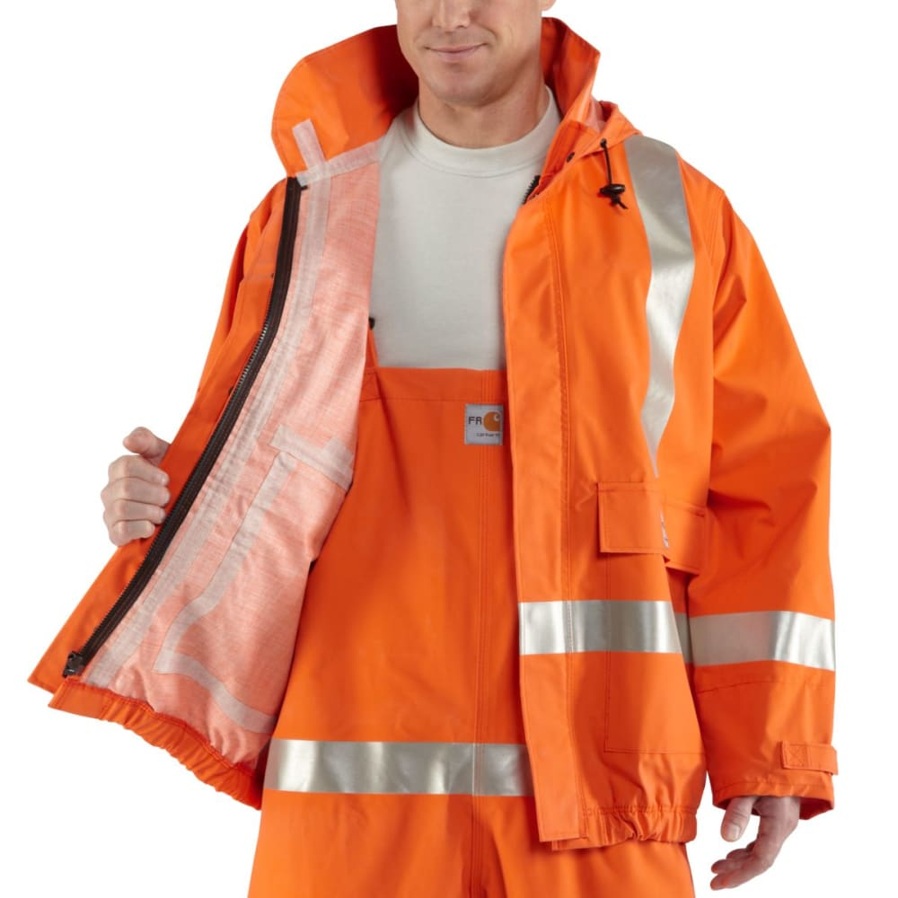CARHARTT Flame-Resistant Jacket - BOLD ORANGE