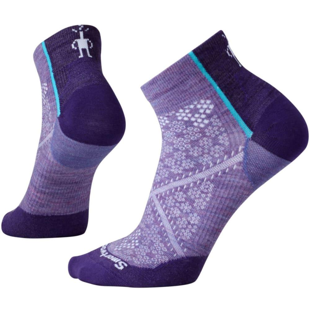 SMARTWOOL Women's PhD Cycle Ultra Light Low Cut Socks - LAVENDER 511