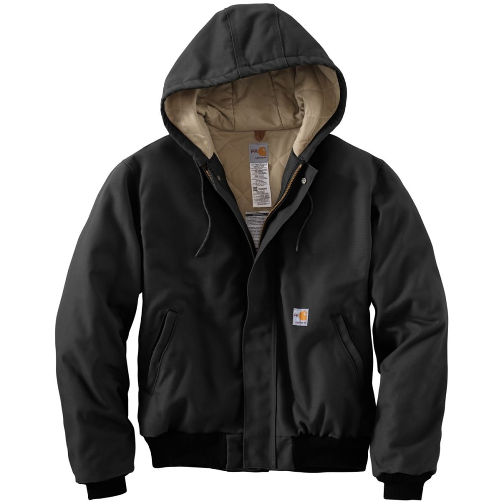 CARHARTT Duck Active Jac/Quilt Lined - BLACK
