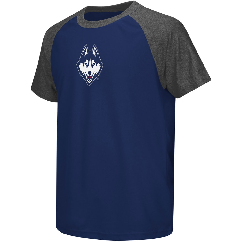 UCONN Boys' Get Out Raglan Short-Sleeve Tee - NAVY