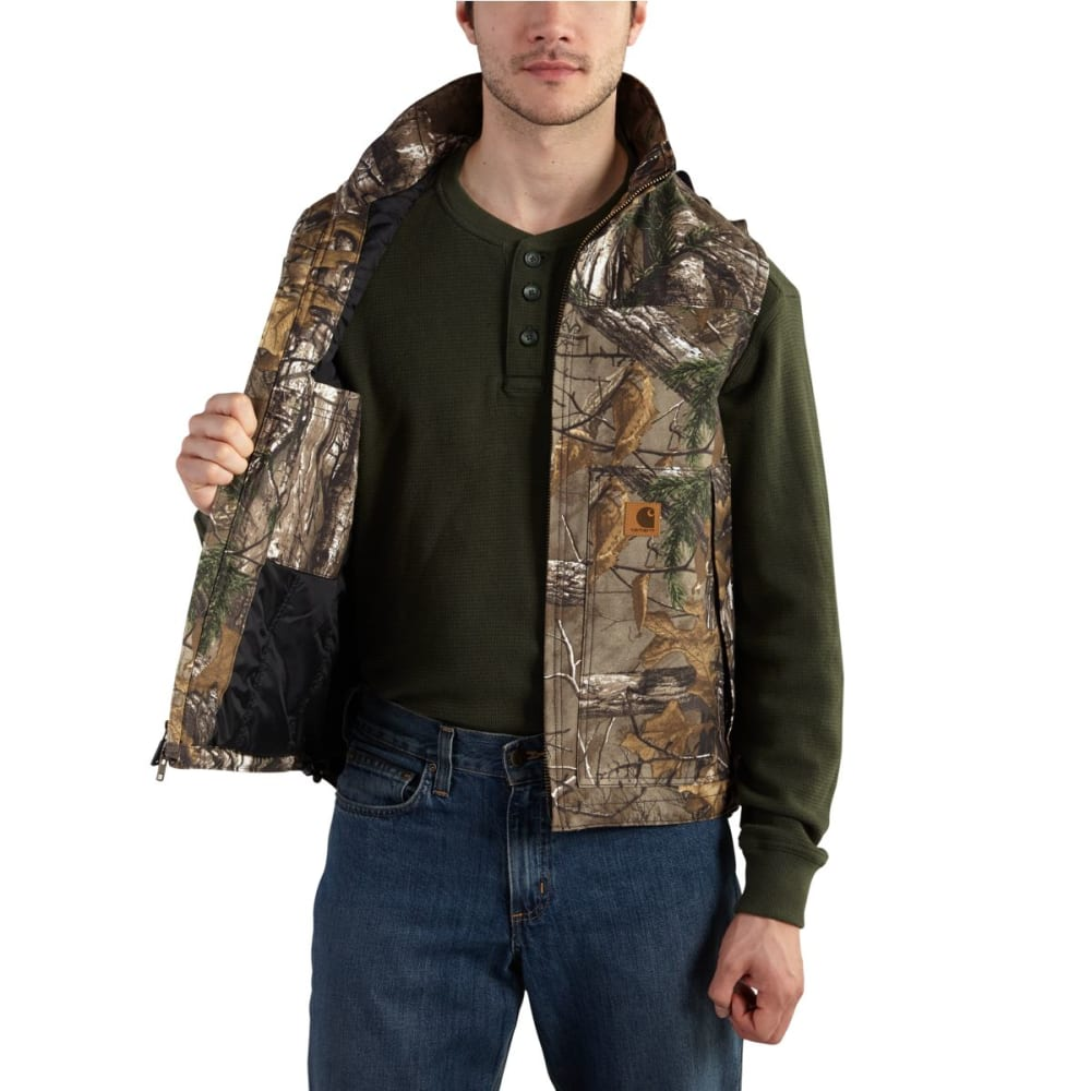 CARHARTT Quick Duck Camo Vest - REALTREE XTRA
