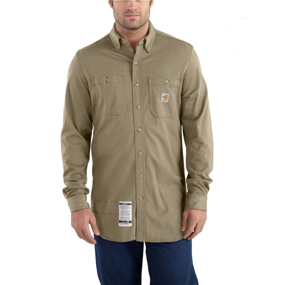 CARHARTT Force Cotton Hybrid Shirt - KHAKI