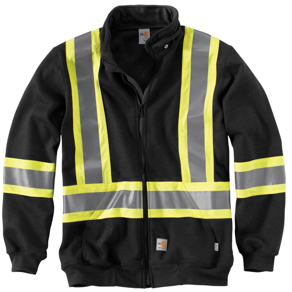 CARHARTT Striped Klondike Sweatshirt - BLACK