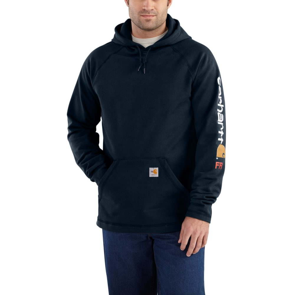 CARHARTT Force Rugged Flex Graphic Fleece - DARK NAVY