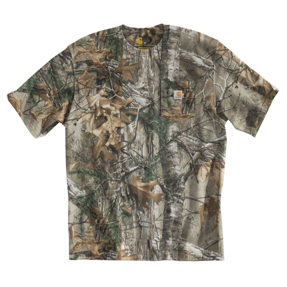 CARHARTT Men's Camo Short-Sleeve Shirt - REALTREE XTRA
