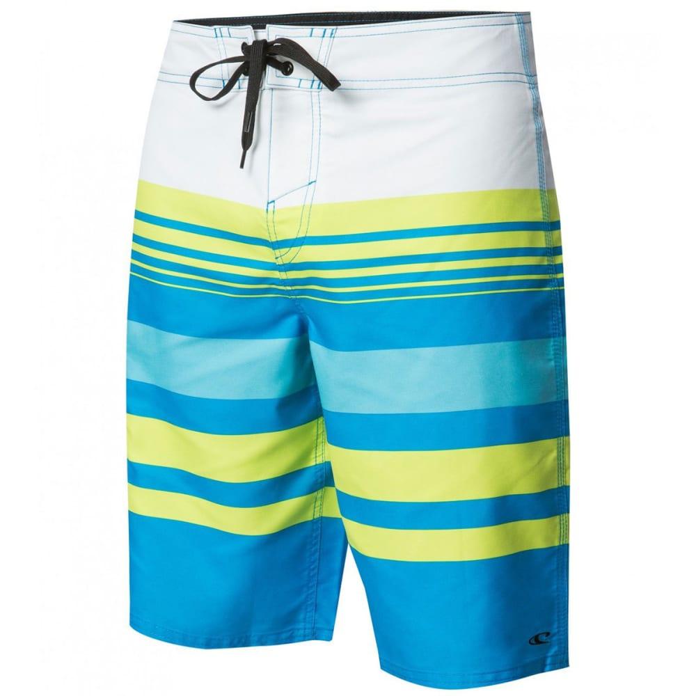 O'NEILL Men's Calypso Stretch Board Shorts - BLU - BRIGHT BLUE