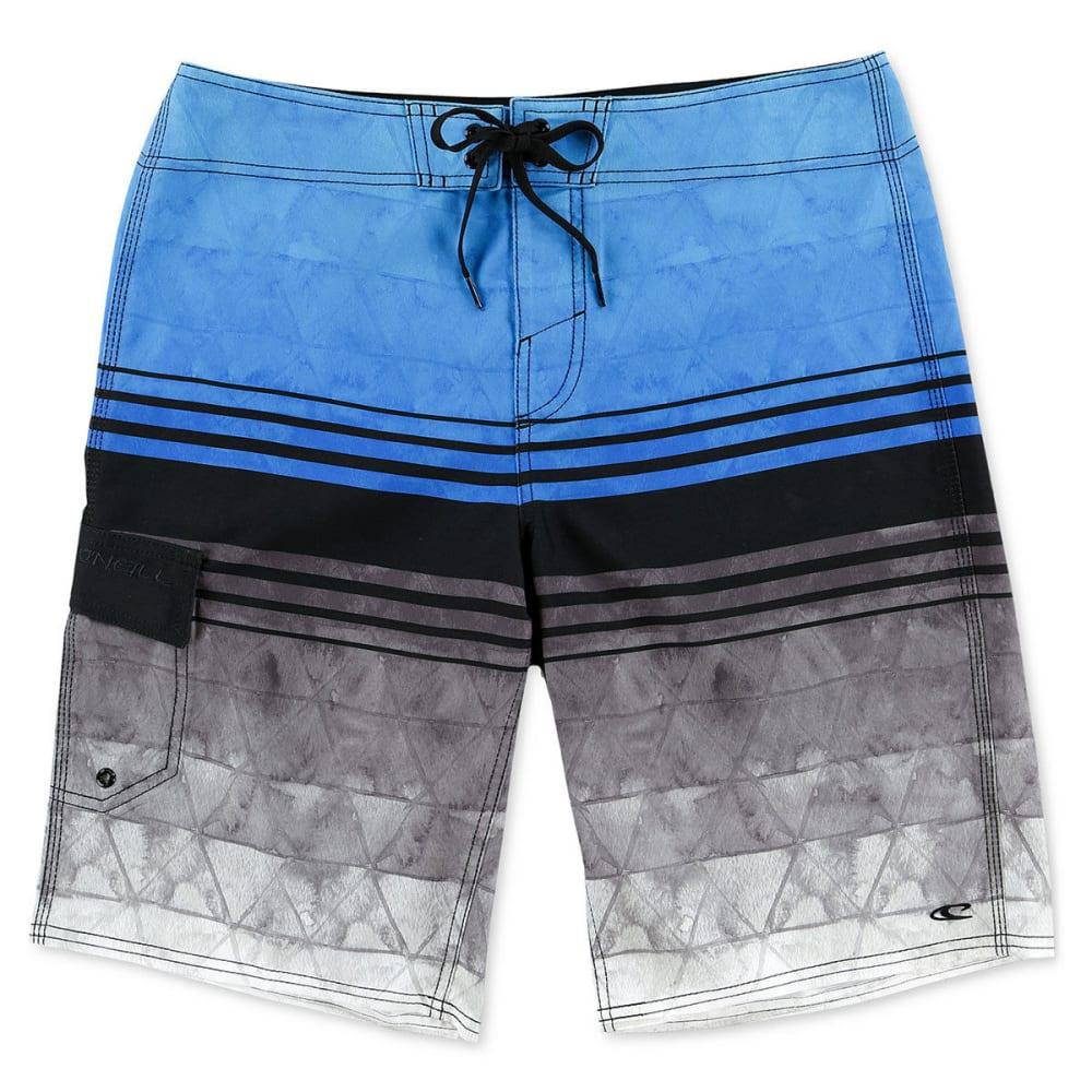 O'NEILL Men's Calypso Stretch Board Shorts - RYL - ROYAL BLUE
