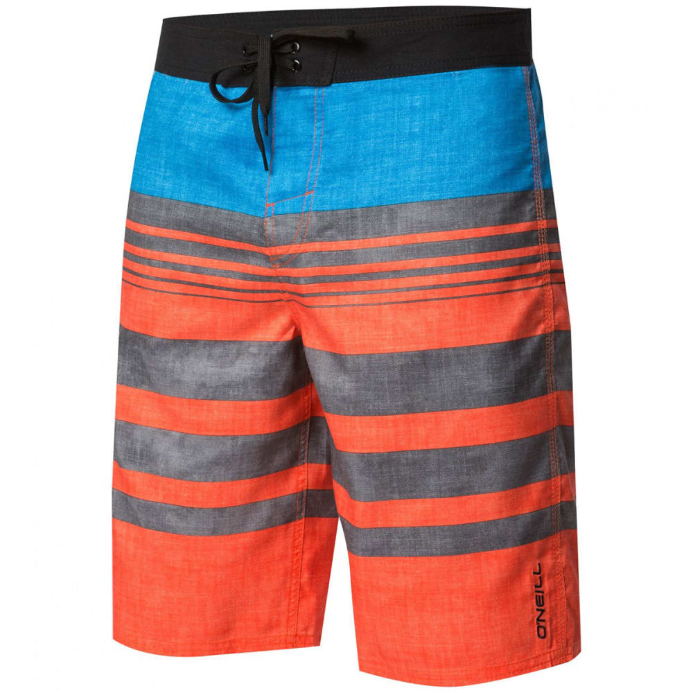 O'NEILL Men's Bocas Del Toro Stretch Board Shorts - ORG-ORANGE