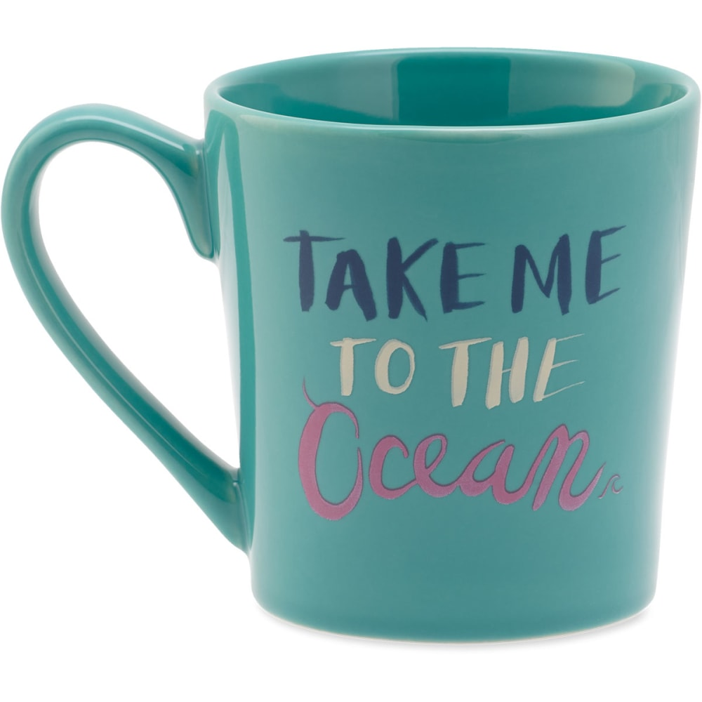 LIFE IS GOOD Take Me to the Ocean Everyday Mug - NO COLOR
