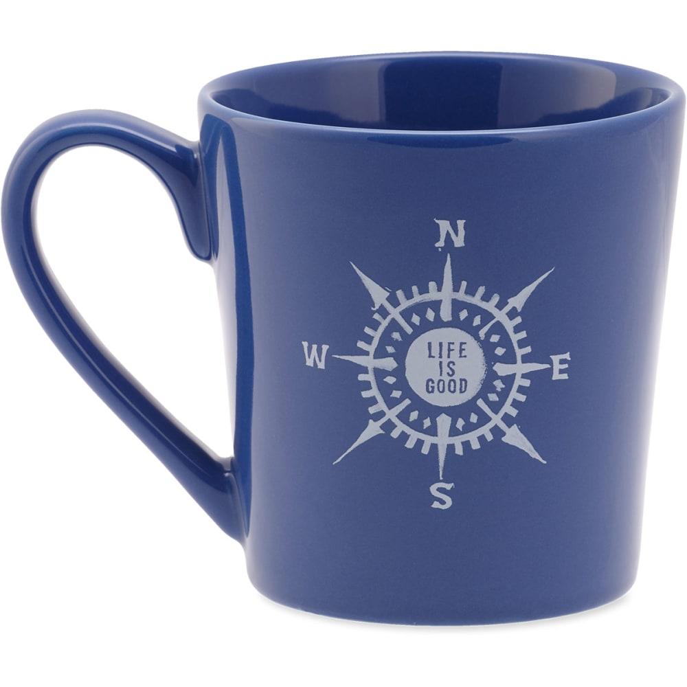 LIFE IS GOOD Compass Everyday Mug - NO COLOR