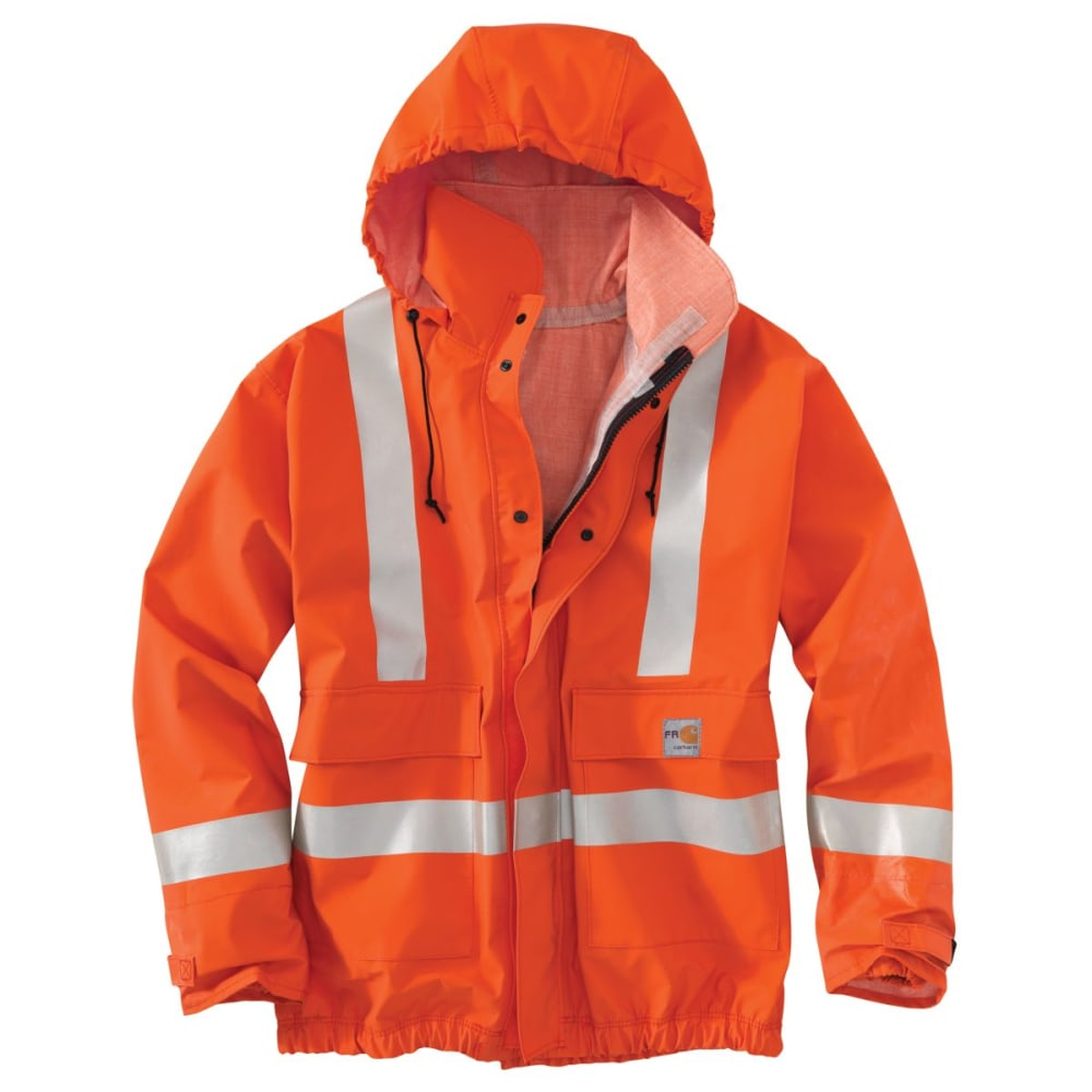 CARHARTT Flame-Resistant Jacket, Extended Sizes - BOLD ORANGE