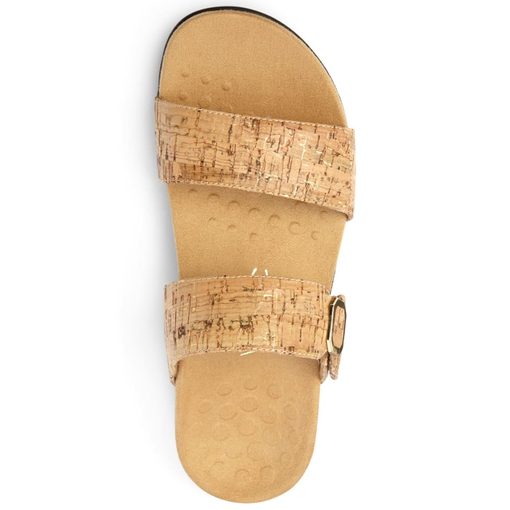 VIONIC Women's Camila Cork Slide Sandals - CORK