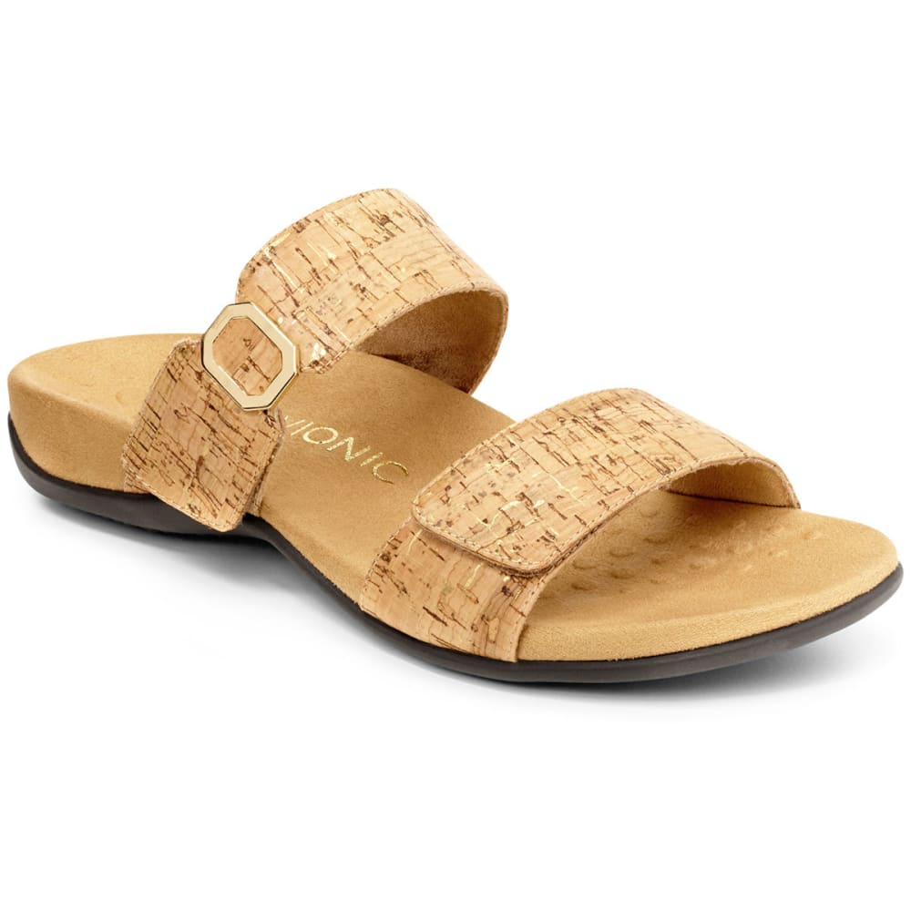 VIONIC Women's Camila Cork Slide Sandals - CORK