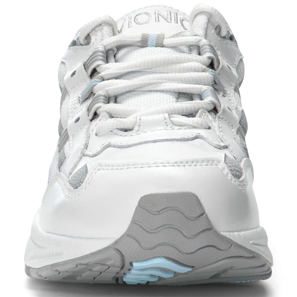 VIONIC Women's Walker Classic, Wide - WHITE/BLUE