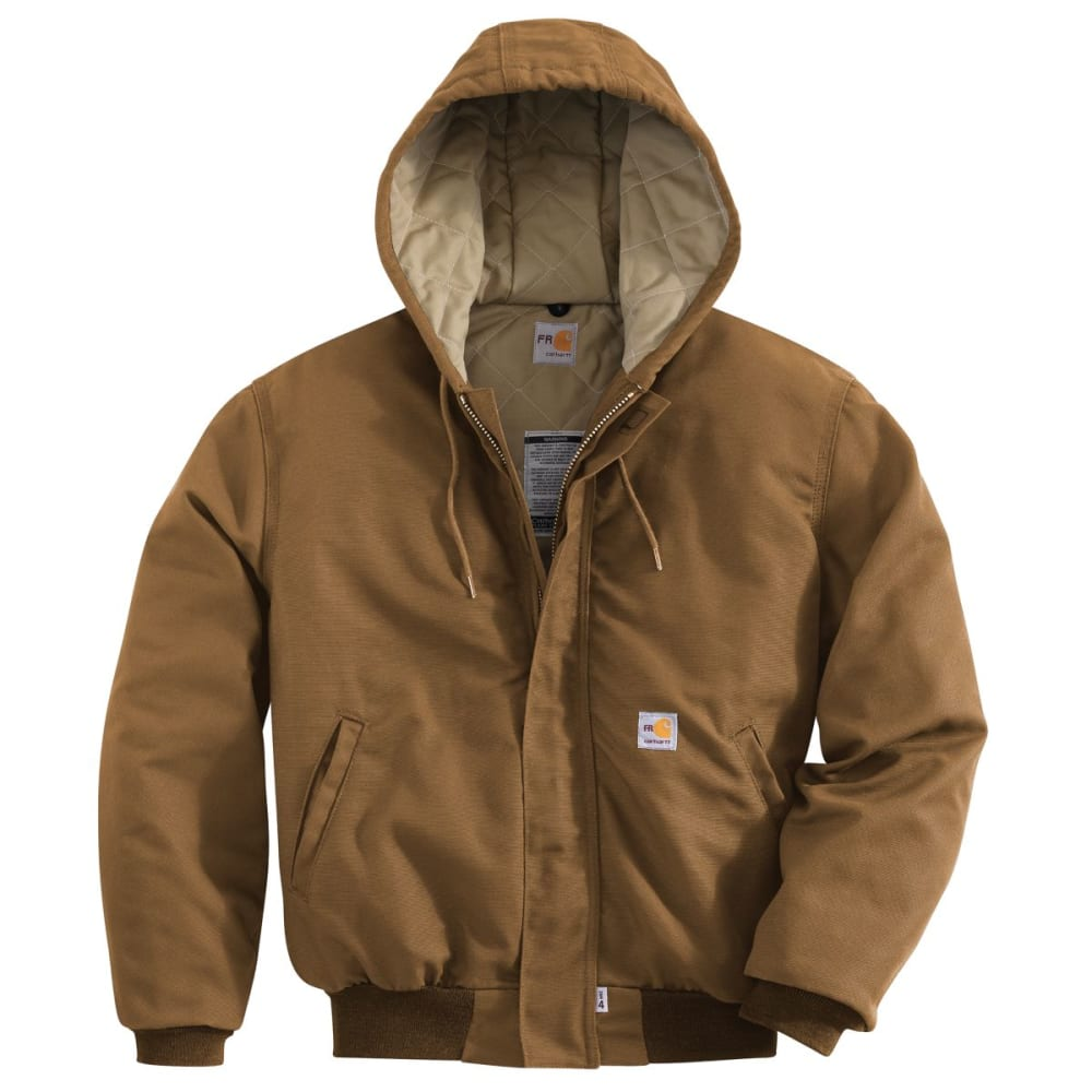 CARHARTT Midweight Active Jac/Quilt Lined, Extended Sizes - CARHARTT BROWN