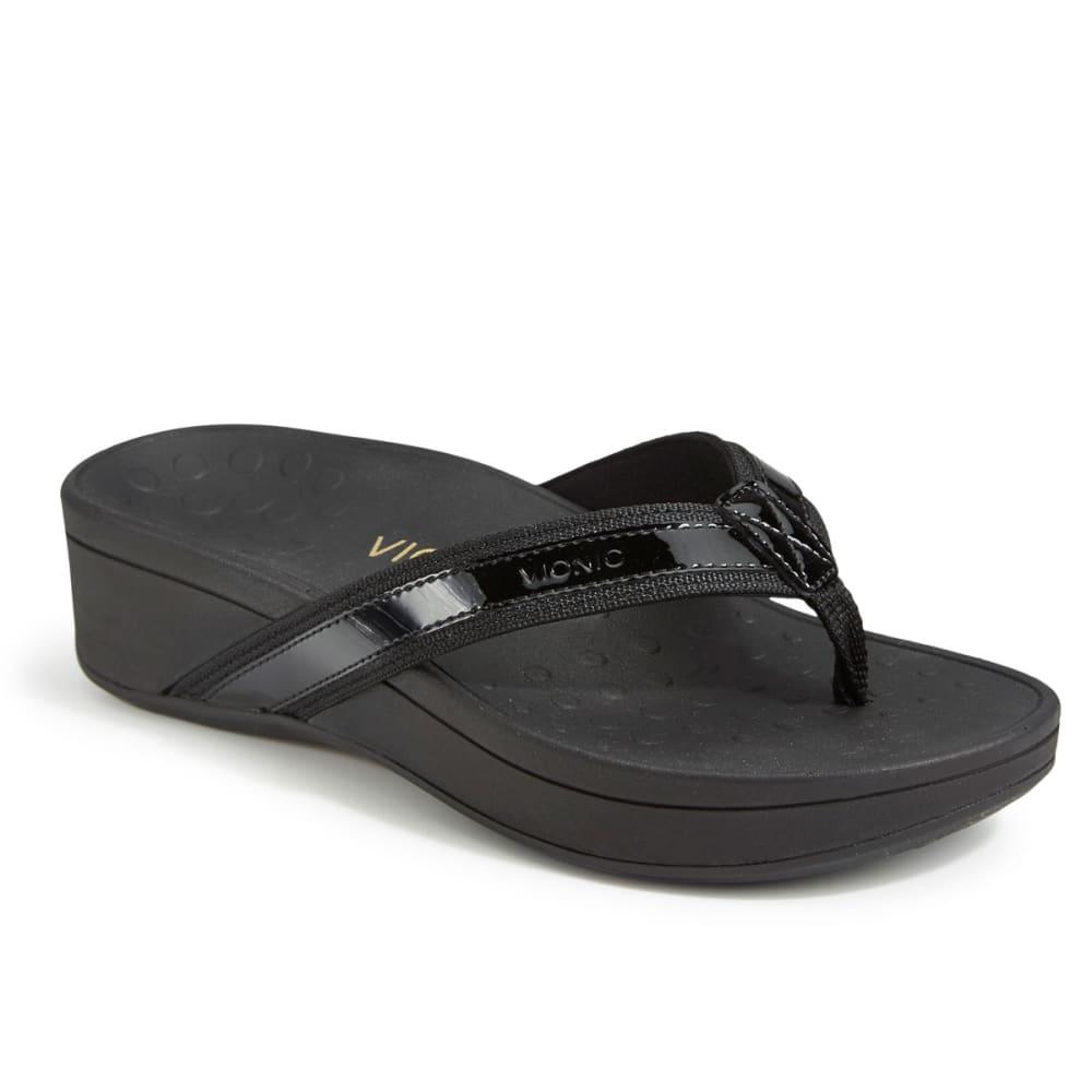 VIONIC Women's High Tide Platform Sandals, Black - BLACK