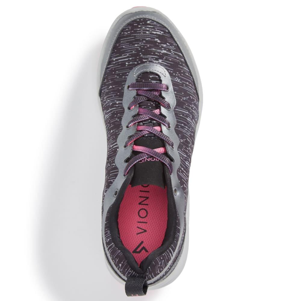 VIONIC Women's Agile Fyn Sneakers, Black - BLACK