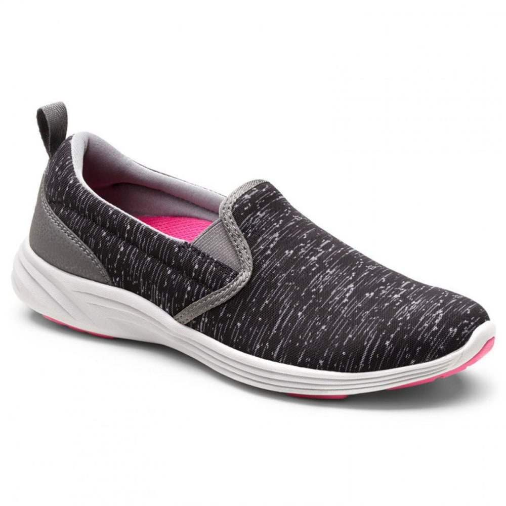 VIONIC Women's Kea Slip-On Sneakers, Black - BLACK