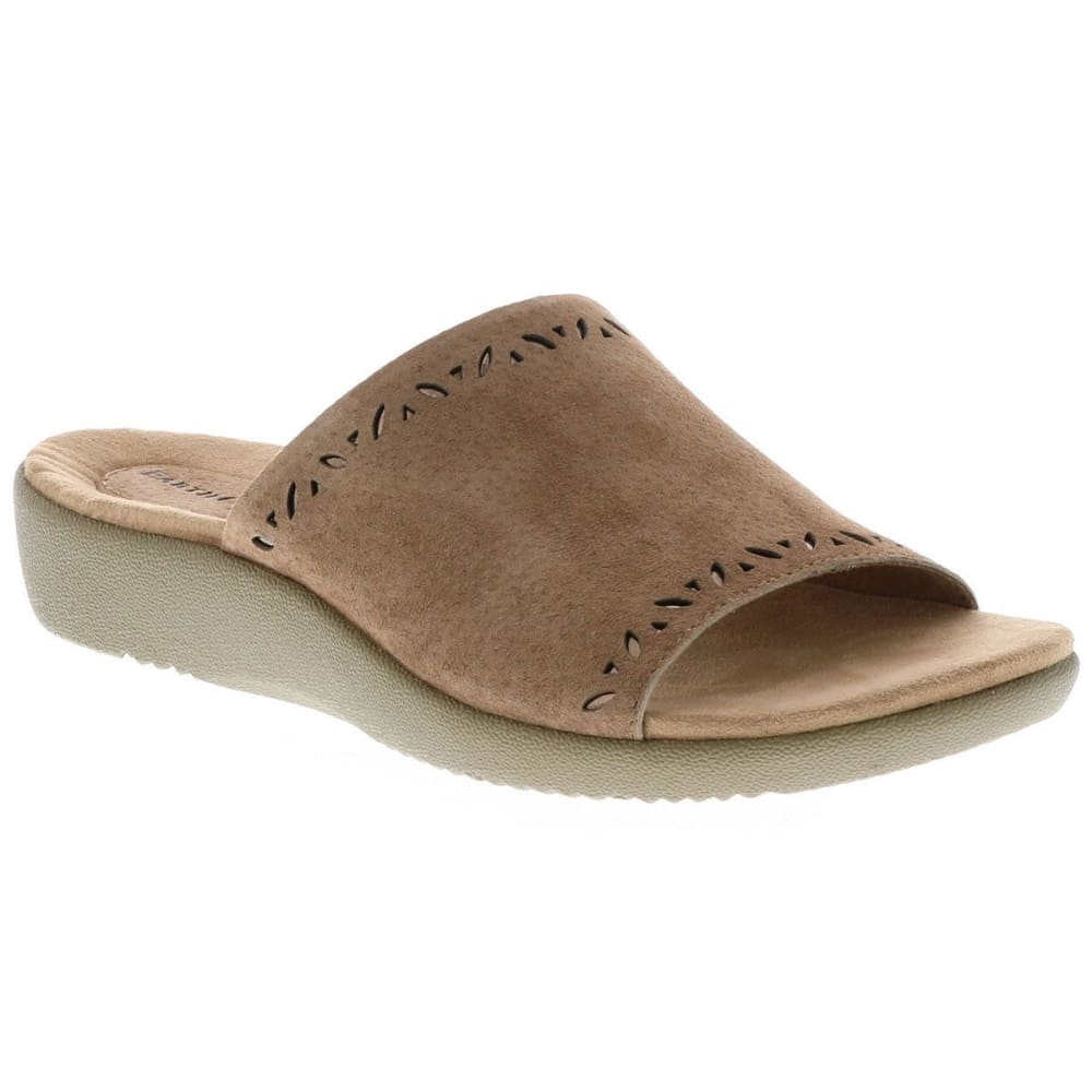 EARTH ORIGINS Women's Valorie Slides, Molasses - MOLASSES