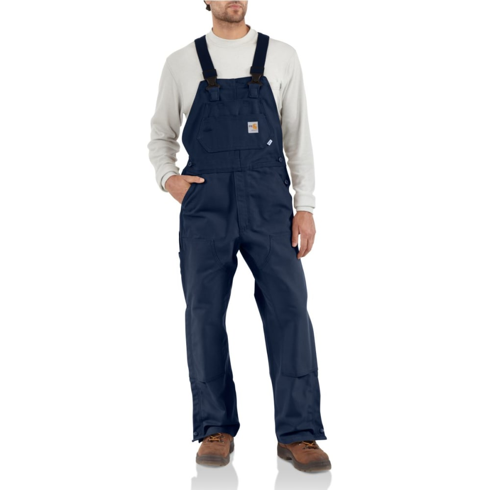 CARHARTT Men's Duck Bib Overall/Unlined, Extended Sizes 46/28