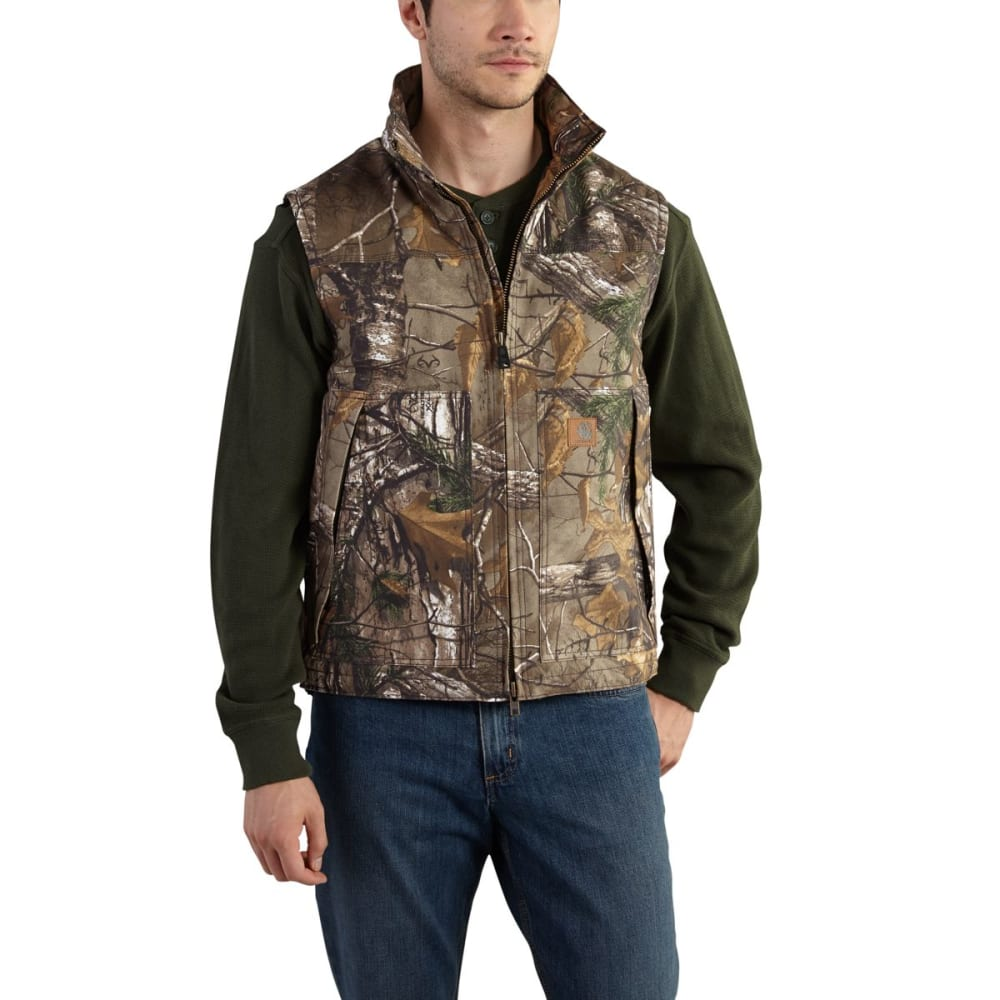 CARHARTT Quick Duck Camo Vest, Extended Sizes - REALTREE XTRA