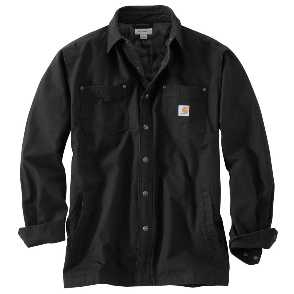 CARHARTT Chatfield Ripstop Shirt Jac, Extended Sizes - BLACK